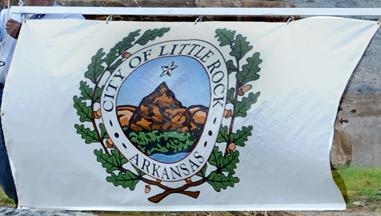 Flag of Little Rock Arkansas